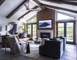 Interior Designer Kansas City An Old Leawood Home Is Reworked With Rustic Modern Flair