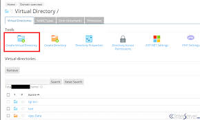 How To Create A Directory Creating Virtual Directory In Plesk Interserver Tips