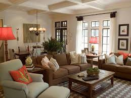 brown living room. Perfect Living Br Brown Couch Living Room Decor 2018 Dining Table Intended I