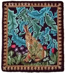 morris tapestry hare