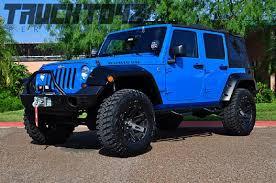blue customized jeep wranglers. lifted jeep wrangler 2016 blue customized wranglers