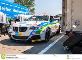 BMW Convertible bmw m235i race car : BMW M235i racing car editorial photography. Image of histocup ...