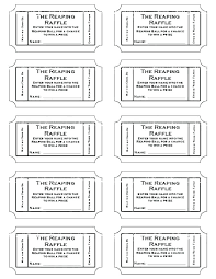 Make Free Tickets Free Online Ticket Template Make Your Own Printable Raffle