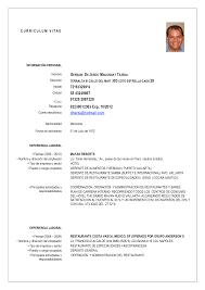 Comfortable Curriculum Vitae Filetype Doc Pictures Inspiration