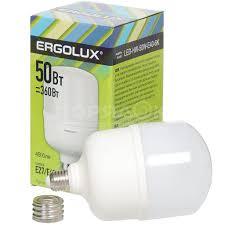 <b>Лампа светодиодная Ergolux</b> 13 556, 50 Вт, Е40/Е27, холодный ...