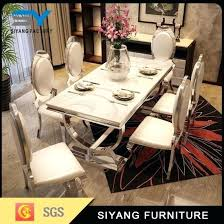 modern dining table set 6 seater restaurant furniture modern dining set 6 dining table caesar modern