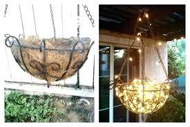 outdoor candle chandelier tutorial patio furniture lighting