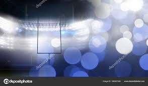 Stadium Lights Effect Sports Stadium Lights Transition Effect Stock Photo