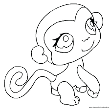 My Littlest Pet Shop Coloring Pages Colouring Intended For Online