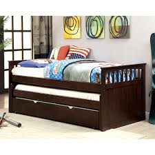 Crensa Mission Style Twin Espresso Daybed by FOA