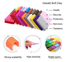 polymer clay 24 color oven bake clay safe and nontoxic diy modeling clay with modeling tool