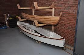 build a triple canoe storage boat rack