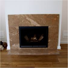 inserted fireplace surround