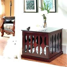 modern dog crates console table pet crate e that look like mid century diy