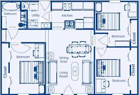 low income housing floor plans. Unique Low Home Floor Plan 988 Sqft 3 Bedroom 1 Bathroom U2013 Mirror Image Inside Low Income Housing Plans T
