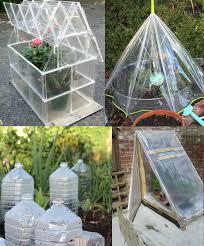 easy diy mini greenhouse ideas creative homemade greenhouses balcony garden web