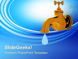 Save Water And Save Life Powerpoint Templates Ppt
