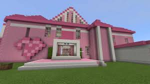 The ideas comes with a full tutorial so it should be easy to follow! Pink House Map For Mcpe All For Minecraft Pe Game