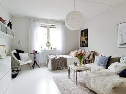 Simple minimalist nordic decor