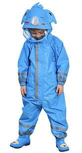 DAWNTUNG <b>Kids Children Raincoat</b> Cartoon Rainsuit <b>Boy Girl</b> ...
