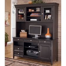 office hutch desk. large picture of carlyle h371 2 pc home office set (tall desk hutch) hutch