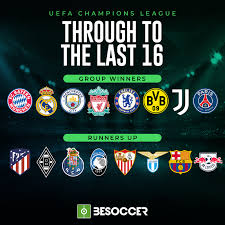 See more of uefa champions league on facebook. These Are The 16 Teams Through To The Last 16 Of The 2020 21 Champions League Besoccer