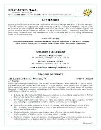Objectives For Teaching Resume Resume Of A Teacher Teaching Simple Teaching Resumes