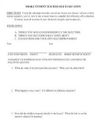 Employee Self Assessment Samples Evaluation Examples Free Comments ...