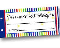 Diy blank coupons | Etsy