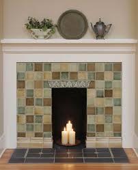 watercolor glaze fireplace