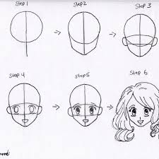 how to draw anime girl hair step by step for beginners. Interesting How How To Draw Anime Girl Hair Step By For Beginners  HD  And N