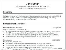 Example Customer Service Resumes Resume Professional Summary Simple