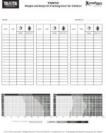 Body Composition Tracking Charts Tanita Corporation
