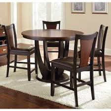 olivia two tone cherry and black counter height dining set overstock ping