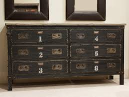 industrial look furniture. industrial look 6 drawer wide chest furniture i