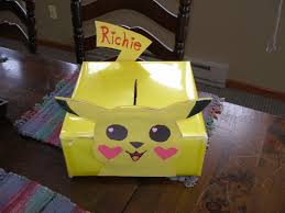 Valentine Shoe Box Decorating Ideas Images About Valentines Day On Pinterest Valentine Box Pikachu 91