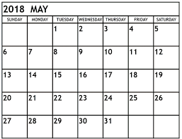 windows printable calendar 2018 may 2018 calendar with holidays free calendar and template