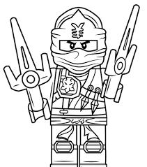Ninjago Coloring Pages Lord Garmadon At Getdrawingscom Free For