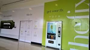 Cold Pressed Juice Vending Machine Unique The Fix's Coldpressed Juice Vending Machine Comes To Canberra Centre