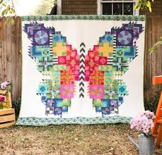 Butterfly Quilt Kit | True colors, Butterfly and Tula pink fabric & Butterfly Quilt Kit Adamdwight.com