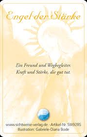 Engel Der Stärke Ein Engelbild Im Format Einer Scheckkarte