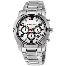 michael kors caine silver dial chronograph stainless steel men s michael kors caine silver dial chronograph stainless steel men s watch mk8472