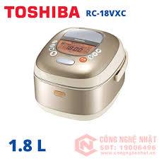 Nồi cơm điện áp suất cao tần Toshiba RC-18VXC 2010 dung tích 1.8L  100V-1300W màu xám đồng nội địa Nhật_Nồi Cơm Đã Qua Sử Dụng - Trưng bày_Nồi Cơm  Điện Nhật_Điện Máy