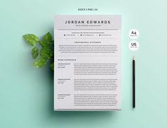 30 Free & Beautiful Resume Templates To Download | | Resume ...