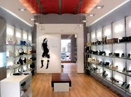 Interior Design for a Shoe Store