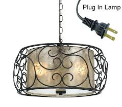 plug in swag chandelier plug in swag light pendant light with plug in hanging chain plug