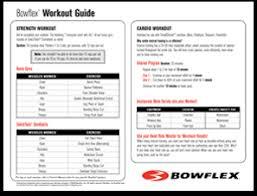 Bowflex Exercise Wall Chart Why Home Gyms Bowflex