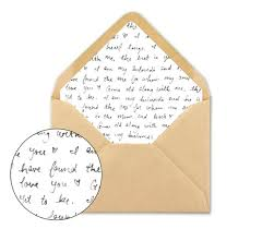 Wedding Envelope Liner Unique Envelope Liner Template A7 Square
