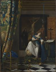 Vermeer Painter Of Light The Allegory Of Faith Wikipedia