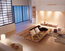 Wooden Furniture Living Room Designs Zen Inspired Interior Design